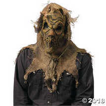 Scarecrow Gunny Sack Natural Mask Adult Halloween Accessory - $21.23