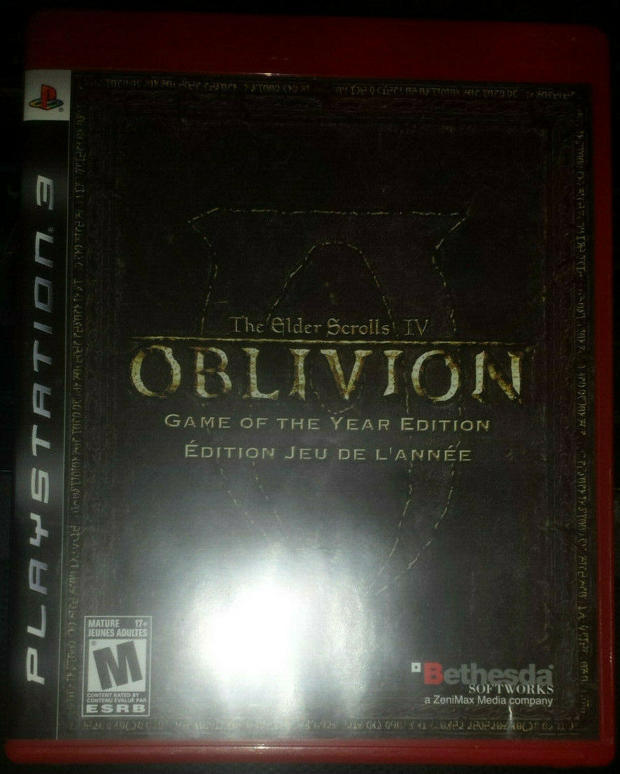 Primary image for The Elder Scrolls IV Oblivion BLUS30087 PS3 [Mint Condition][CIB][GotY]