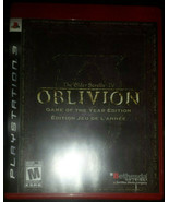 The Elder Scrolls IV Oblivion BLUS30087 PS3 [Mint Condition][CIB][GotY] - $19.86 CAD