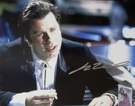 JOHN TRAVOLTA AUTOGRAPHED HAND SIGNED LARGE 11X14 PULP FICTION PHOTO w/COA  - $109.99