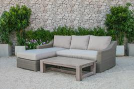 Renava Seacliff Outdoor Wicker Sectional Sofa Set - £1,157.28 GBP