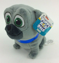 "Disney Jr Puppy Dog Pals Bingo Grey Blue Collar  Plush Stuffed Animal 6""... - $12.40"