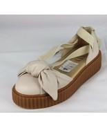 Puma Fenty By Rihanna Mujer Lazo Creeper Sandalias Zapatillas Cordones - $37.78+