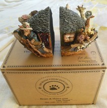 Boyds Bears Noah's Bookends Resin  #4001 Retired - $34.64