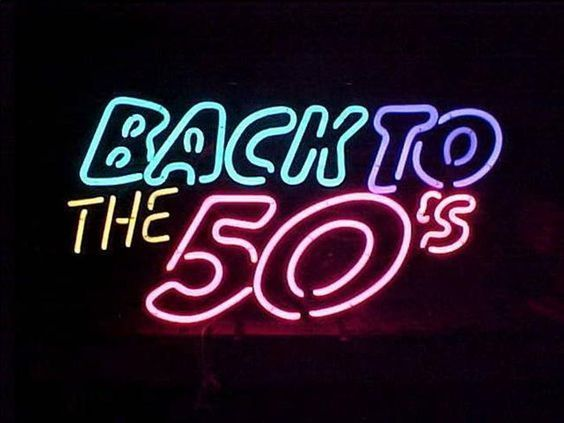 """New Back to the 50's Diner Room Wall Decor Neon Sign 24""""x20"""""""