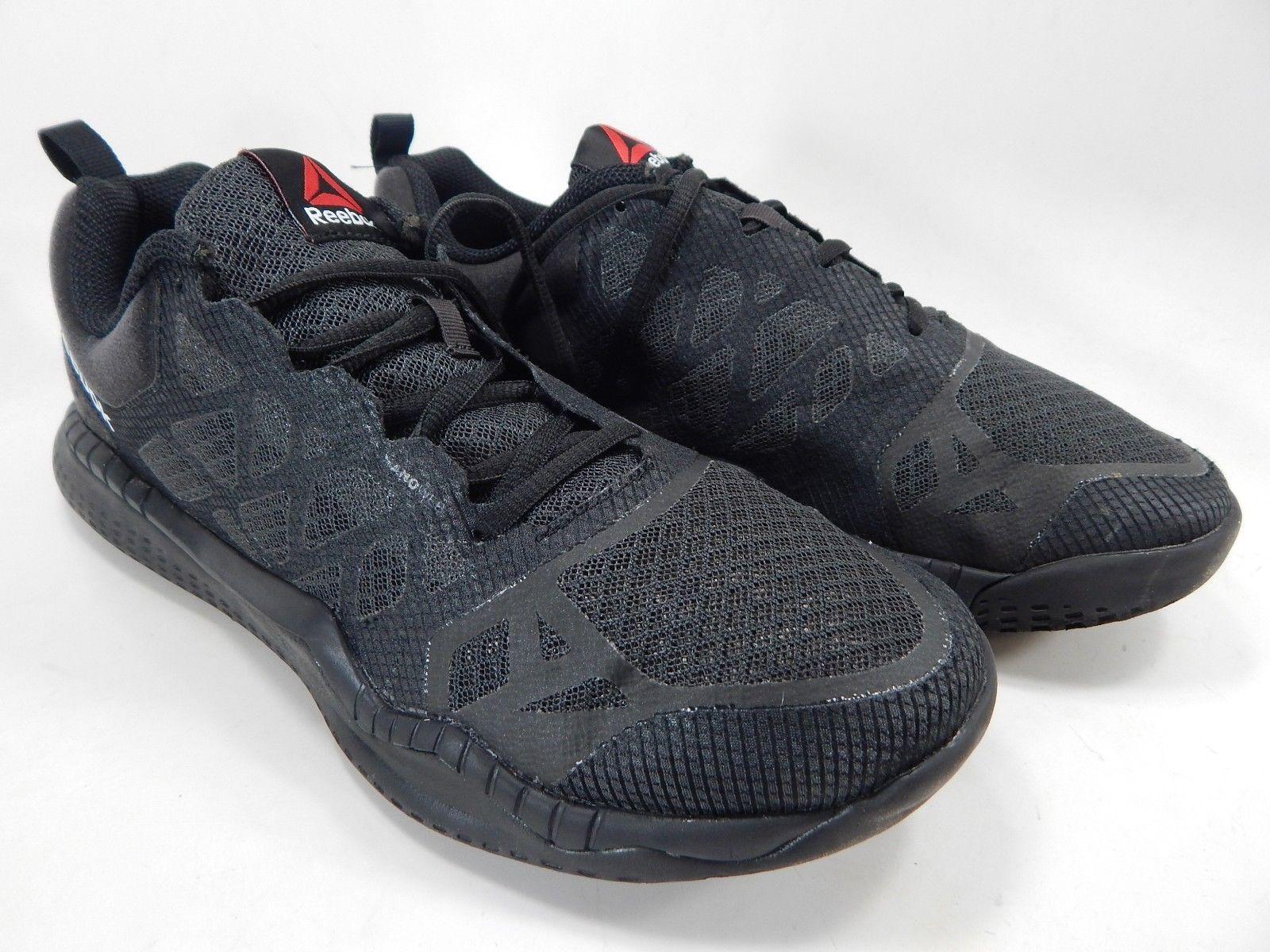 Reebok ZSprint Train Size US 8 M (D) EU 40.5 Men's Running Shoes Black