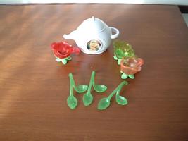 Tinker Bell garden party tea set parts - $14.80