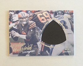 2019 Panini Luminance Baker Mayfield Jumbo Jersey Patch Browns  - $9.50