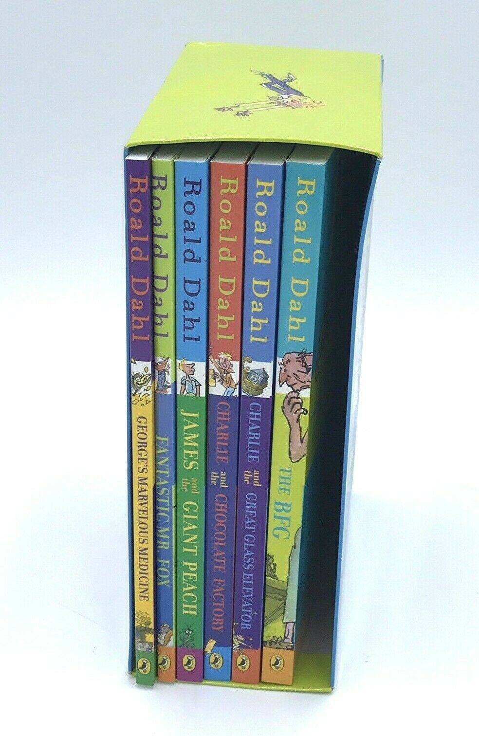 Primary image for 6 Ronald Dahl Collection Box Set Books Paperback