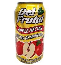 Del Frutal Apple Nectar 11.16 oz - Sabor Manzana - $9.99+