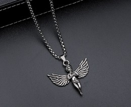 little angel-style fashion personality Pendant - $9.00