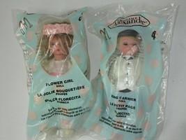 Madame Alexander Dolls McDonalds #3 Flower Girl & #4 Ring Carrier NIP Wh... - $11.30