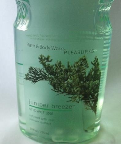 Bath and Body Works New Juniper Breeze Shower Gel 10 oz