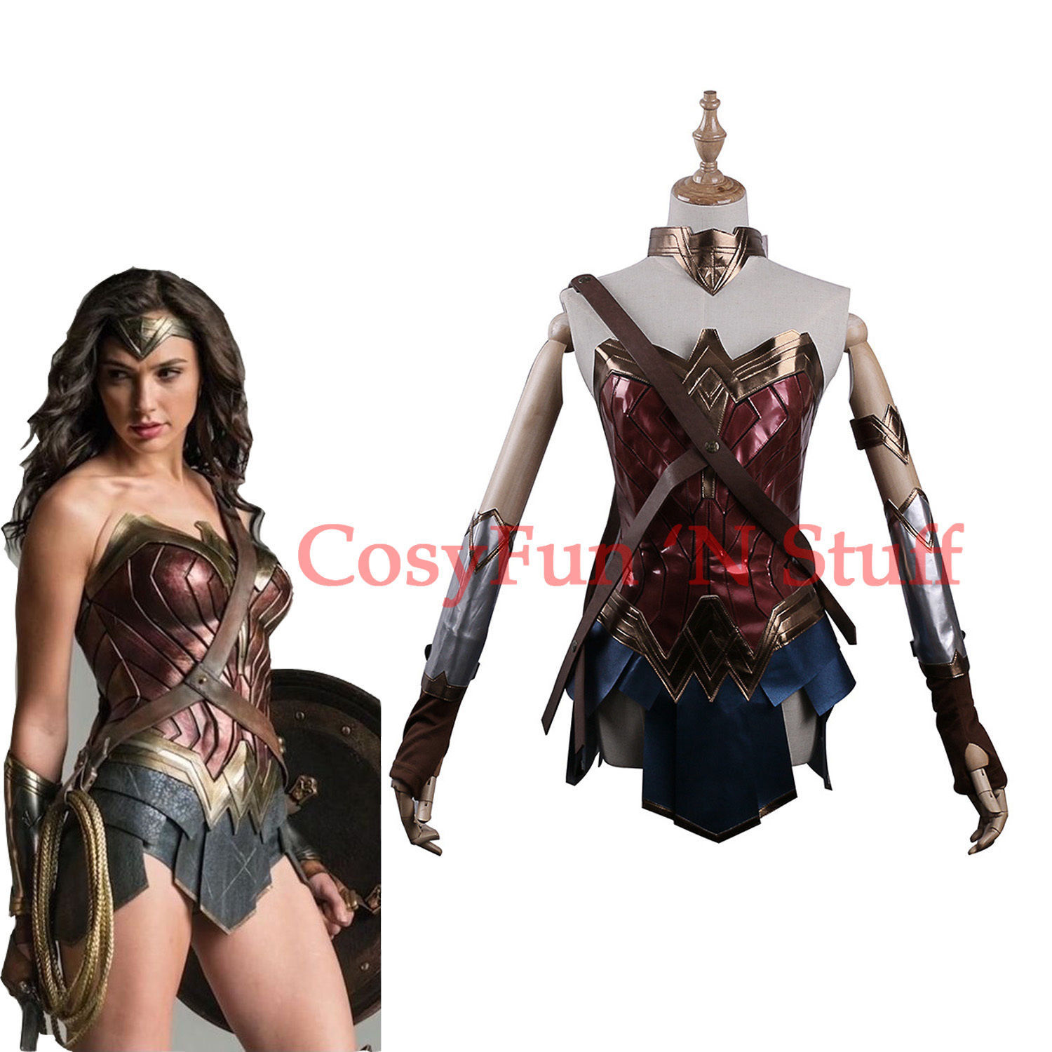 Primary image for 2017 Wonder Woman Diana Princess Justice League Dawn of Justice Cosplay Costume
