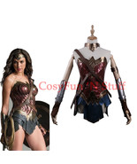 2017 Wonder Woman Diana Princess Justice League Dawn of Justice Cosplay Costume - $134.99