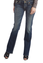 27L Big Star Women's REMY Jeans Low Rise Boot Denim Pants in 4 Year Hudson