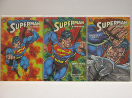SUPERMAN DOOMSDAY - HUNTER/PREY - FULL SET - FREE SHIPPING - $14.03