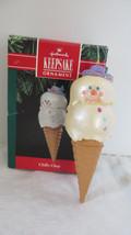 Christmas Hallmark Keepsake 1991 Chilly Chap Ornament - $9.49