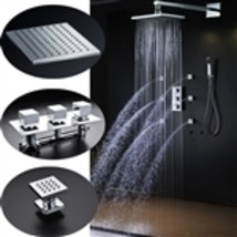 Lombardy Large Square Shower Head with Massage Jets - $1,291.00