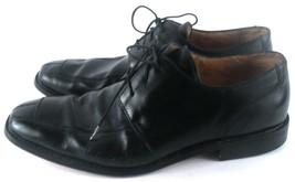 Florsheim Ashlin 11175-001 Men's Split Toe Oxford Style Shoes 13 D Black Lace Up - $17.81