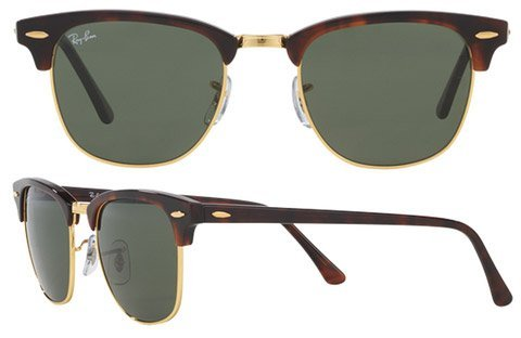 0c4e4cabd90 Ray ban rb3016 w0366. Ray ban rb3016 w0366. Previous. Ray Ban Clubmaster Classic  RB3016 W0366 Sunglasses Tortoise with G-15 Green Lens