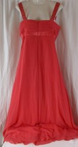 davids bridal bridesmaid dress Size 10 Coral Reef F14006 - $39.59