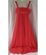davids bridal bridesmaid dress Size 10 Coral Reef F14006 - $27.71