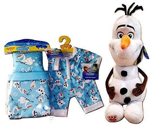 96d0e0df164 Build a Bear Disney Frozen Olaf Snowman PJs and 50 similar items