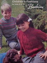 Sweaters Hockey Set Suits Knitting Patterns Children - $4.99