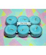 Baby Powder PURE SOY Tea Lights (Set of 6) - $5.00