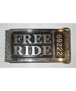 FREE RIDE 6922 - Belt Buckle - $18.00