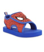 NWT Baby Toddler Spider-Man Spider Man Foam Sandals 5/6 Small - £15.29 GBP