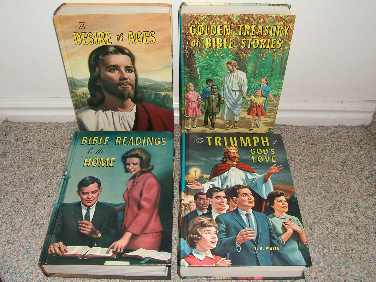 Primary image for 4 VINTAGE E G WHITE PPPA BOOKS: DESIRE OF AGES, TRIUMPH