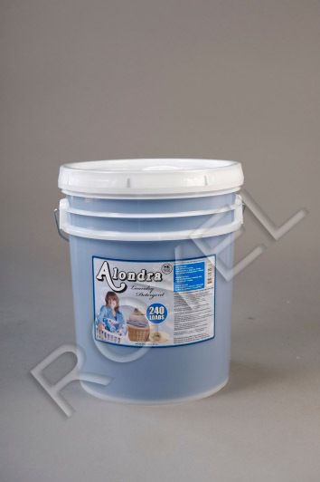Alondra Laundry Detergent 5 Gallon Pail - Concentrated -By Royel Corp WET $25.00