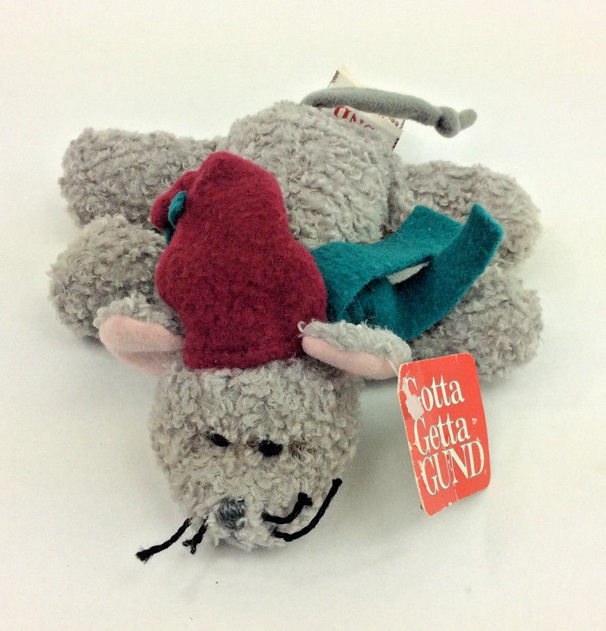 c67c3f63a55 GUND Flurries Mouse Grey Scarf Hat Plush and 50 similar items. 57