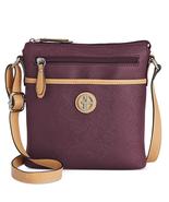 Giani Bernini Saffiano Crossbody Bag, Wine $80 - $28.67