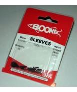 Boone Big Game Sleeves Sz 1/6-12# mono/10# nylon coated wire/36 ct/Lot o... - $10.00