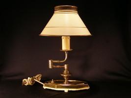 Vintage Candlestick Desk Lamp - Circa 1940 - (sku#1572) - $59.99