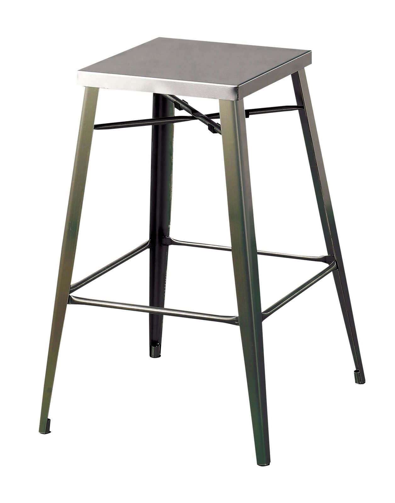 247SHOPATHOME IDF-3504BC-26 Topsham Bar Stools Dark Gray