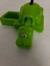 2012 Hungry Hungry Hippos Game GREEN Hippo Part ONLY Hasbro Veggie Potamus - $14.22