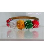 Gold fashion bracelet with assorted sparking cotton mix - $7.00