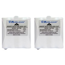 Midland AVP8 2-Way Radio Accessory (2 pk of GMRS Batteries for 200 & 300... - $33.86
