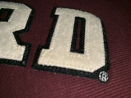 Champion Reverse Weave Sweatshirt Harvard Men's Size M Burgundy L/S Exc Cond image 3
