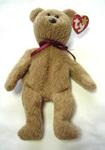 Vintage 1996/1993 TY Beanie Babies Curly Bear with Errors Brown Nose - $124.99