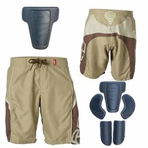 Red Burton Impact Shorts Protection Hip Butt Padded Pants Protective Gea... - $64.17