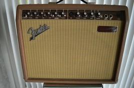 Vintage FENDER Acoustasonic 30 Acoustic Guitar AMP Amplifier Musical Ins... - $224.10