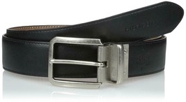 Tommy Hilfiger Men's Premium Leather Reversible Belt Tan/Black 11Tl02X133