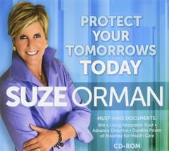 Suze Orman - Protect Your Tomorrows Today: Must Have Documents (CD-ROM) - $16.92