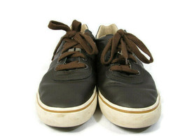 Polo Ralph Lauren Men's Sneakers Brown Leather Size 11.5 D - $25.73