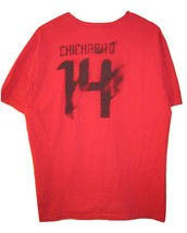 Manchester United Chicharito 14 Nike Red T-shirt Size XL Soccer football - $14.84